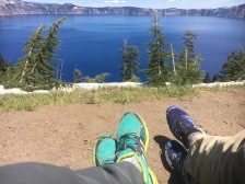 Rest. Crater Lake.